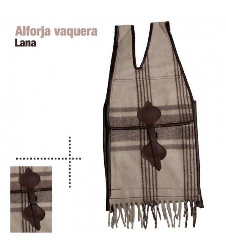 Alforja Vaquera de Lana
