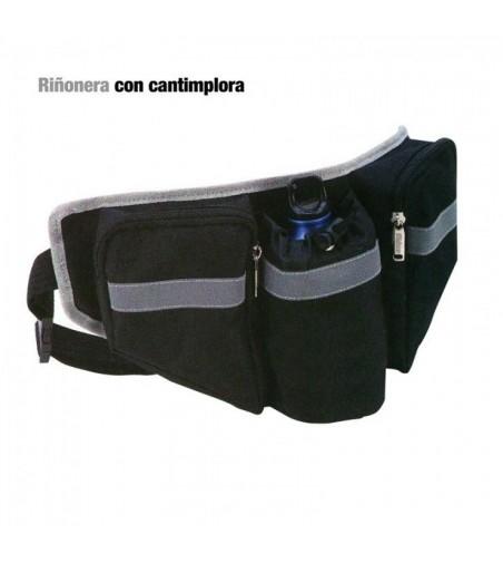 Alforja/Riñonera con Cantimplora