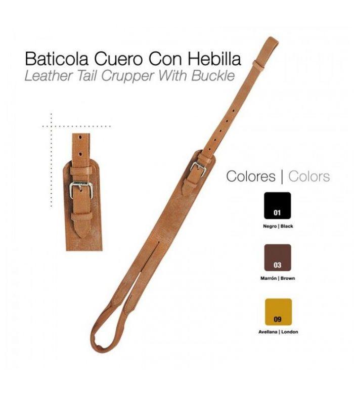 Baticola Cuero con Hebilla Castecus