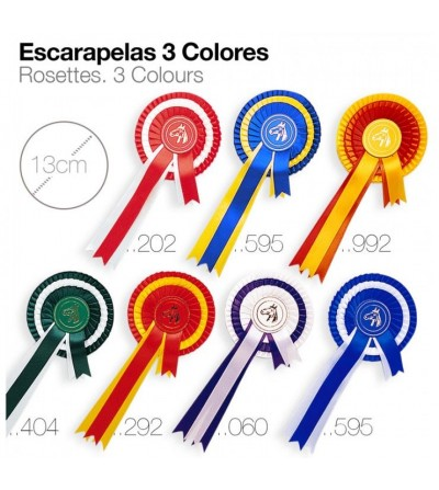Escarapelas 3 Colores