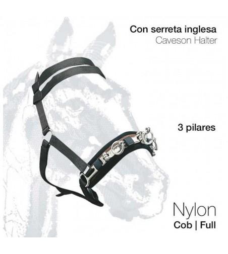 Cabezada Dar Cuerda de Nylon con Serreta 4523