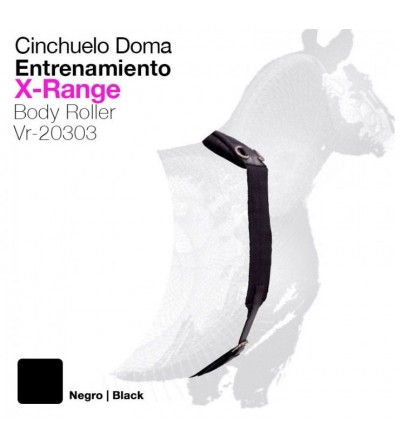 Cinchuelo de Doma X-Range Negro