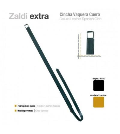 Cincha Vaquera Cuero Zaldi Extra