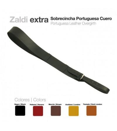 Sobrecincha Portuguesa de Cuero