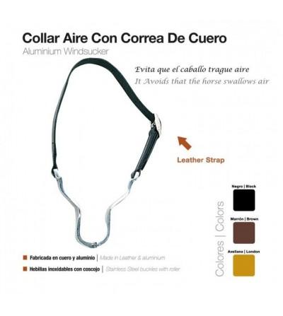 Collar de Aire con Correa De Cuero
