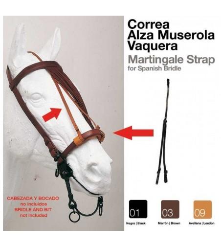 Correa Alza Muserola Vaquera