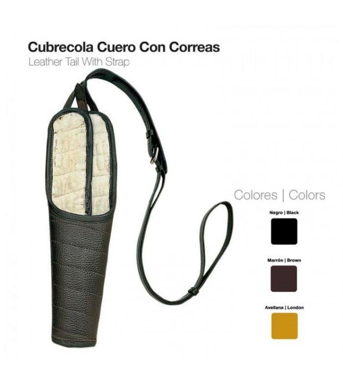 Cubrecola Cuero con Correas