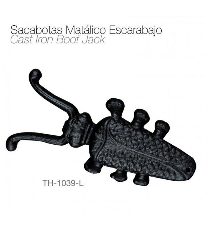 Sacabotas Metálico con forma de Escarabajo