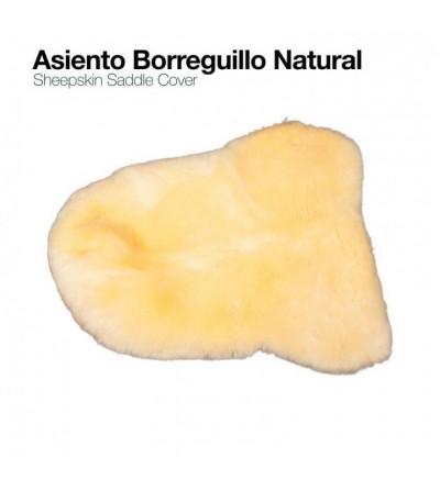 Asiento de Borreguillo Natural para Silla Inglesa