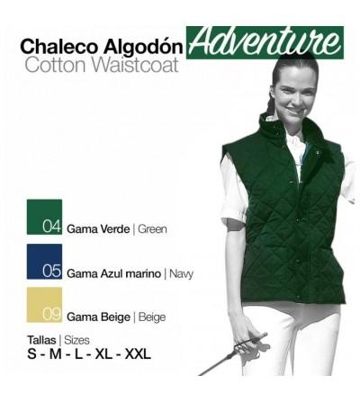 Chaleco de Algodón Adventure Unisex Adulto/Niño