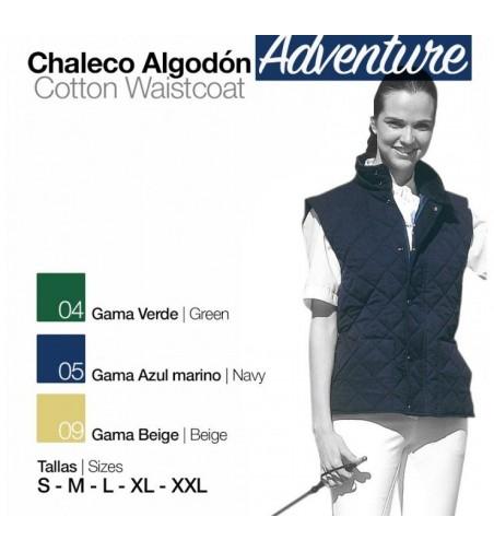 Chaleco de Algodón Adventure Unisex