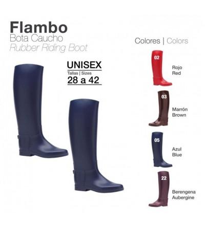 Bota de Caucho Flambo Color