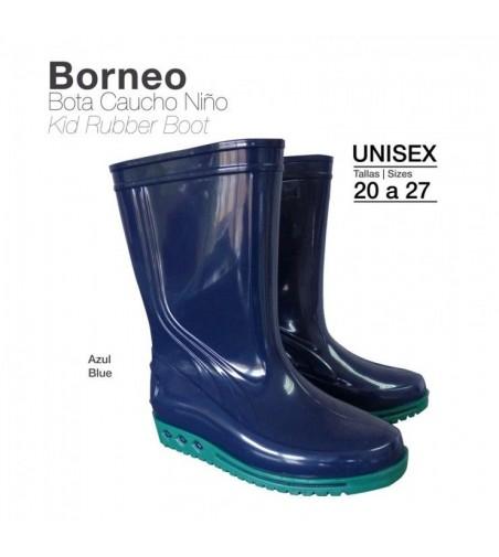 Bota de Caucho para Niño Borneo