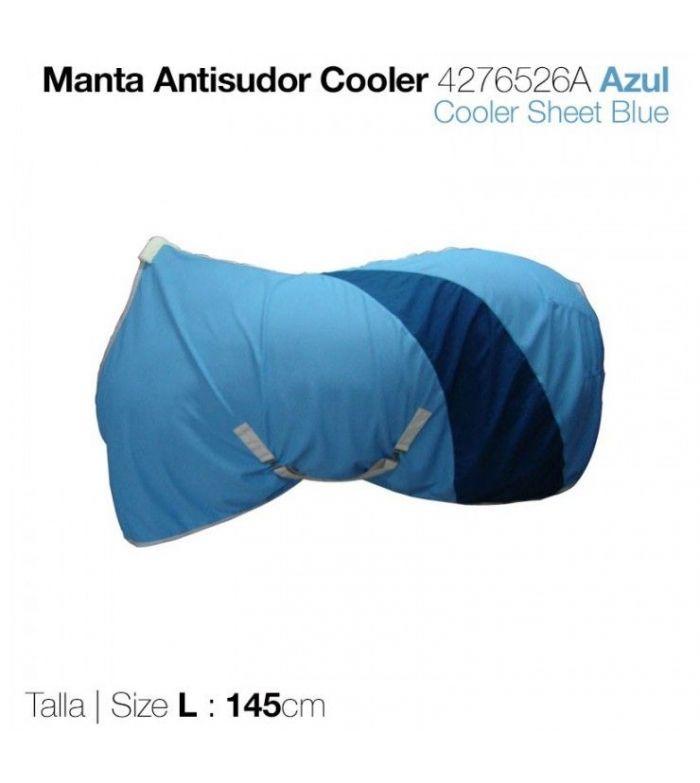 Manta Antisudor Cooler Azul