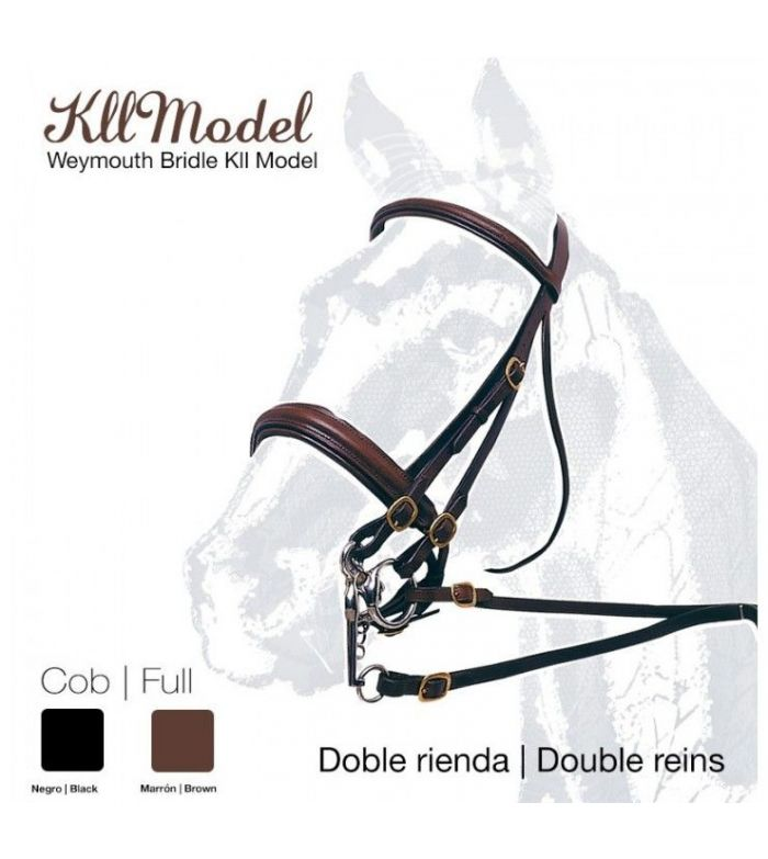 Cabezada de Montar Doble Rienda Kll Model