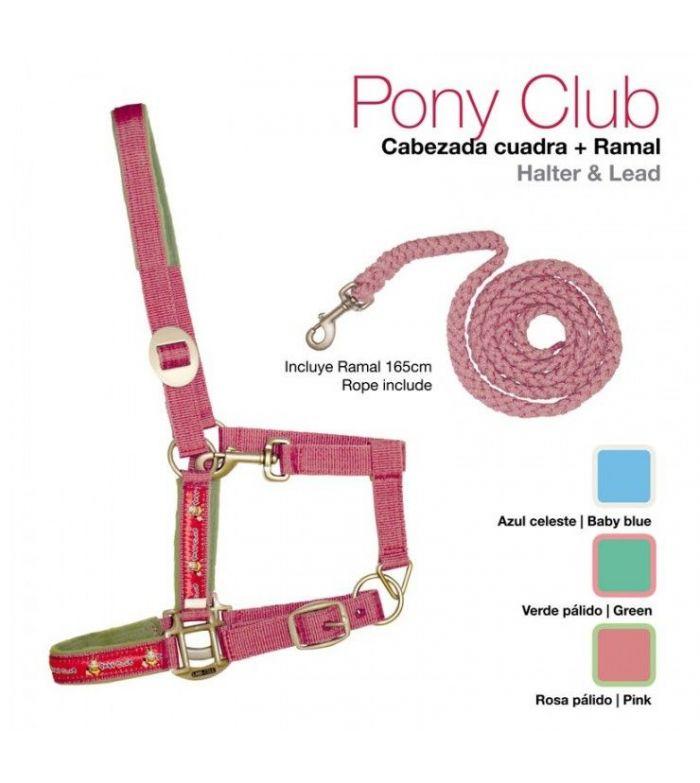 Cabezada de cuadra +Ramal Pony Club