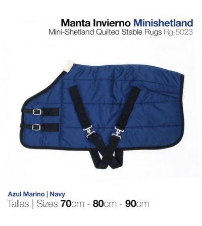 Manta de Invierno Mini-Shetland