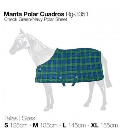 Manta Polar de Cuadros RG-3351