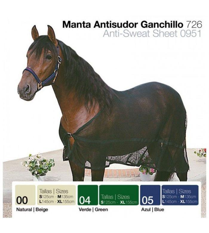 Manta Antisudor Ganchillo 726