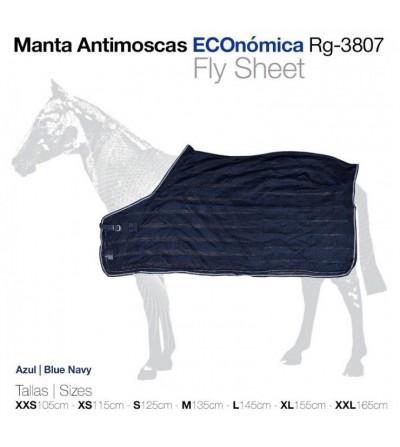 Manta Antimoscas Económica Rg-3807 Azul