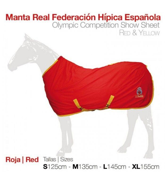 C. Olímpica: Manta Presentación Roja/Amarilla