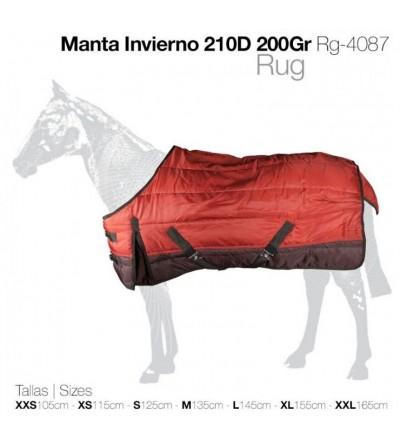 Manta de Invierno 210D 200Gr Rg-4087