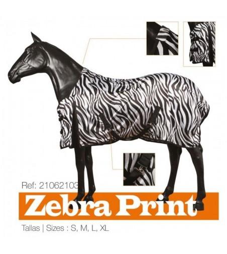 Manta Verano Zebra Print