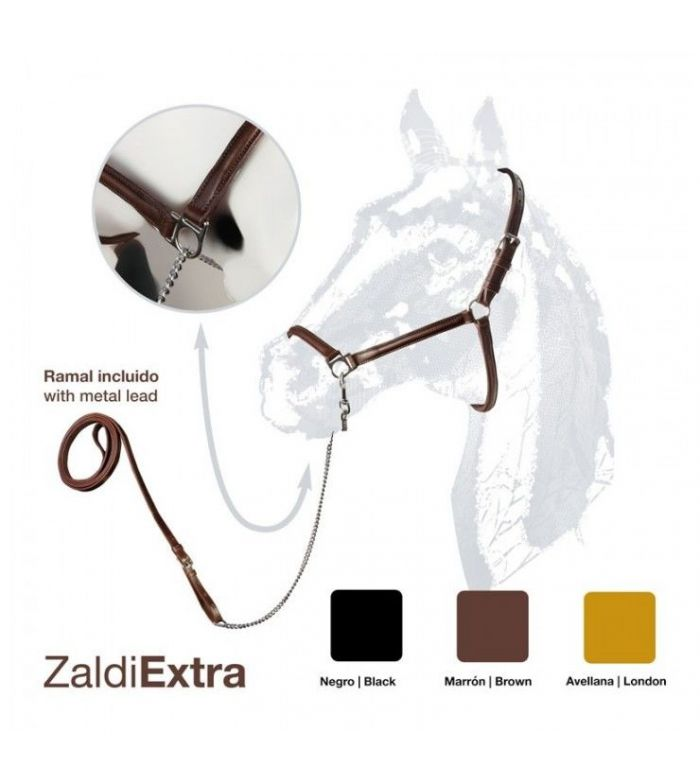 Cabezada de Presentación Zaldi Extra con Ramal