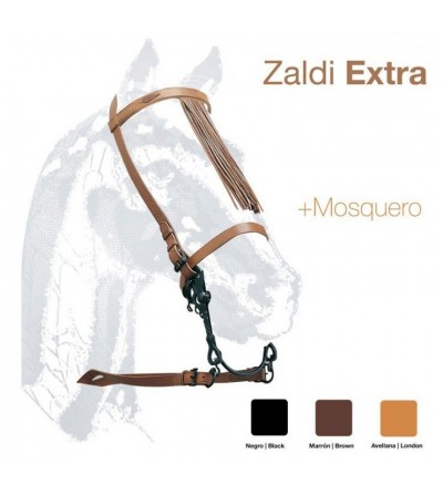 Cabezada Vaquera Zaldi Extra con Piña