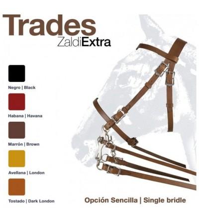Cabezada Montar Trades Zaldi Extra Sencilla