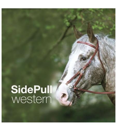 Cabezada de Montar Western Side-Pull Nariz