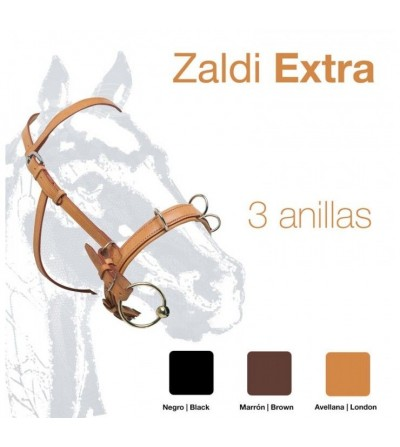 Cabezada de Dar Cuerda Inglesa Zaldi-Extra