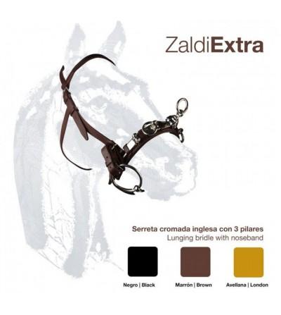 Cabezada Dar Cuerda con Serreta Inglesa Z-E