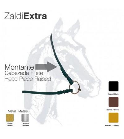 Montante Cabezada Zaldi Extra para Filete