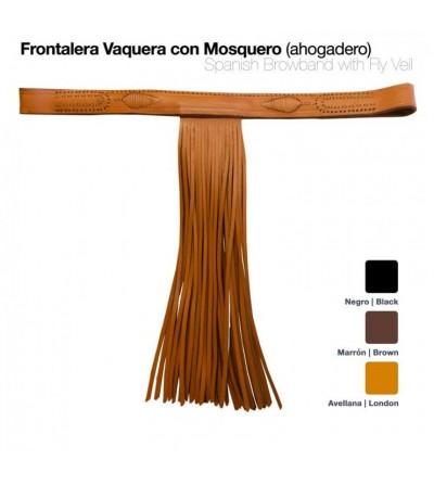 Frontalera Vaquera con Mosquero Ahogadero