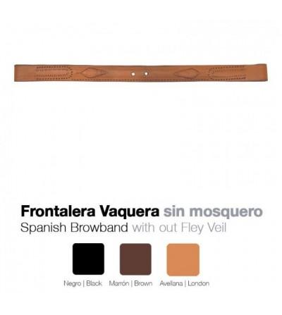 Frontalera Vaquera Zaldi sin Mosquero