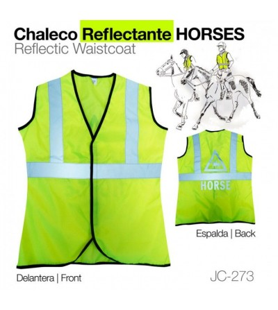 Chaleco Reflectante Horses JC-273