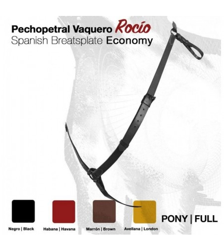 Pechopetral Vaquero Rocio