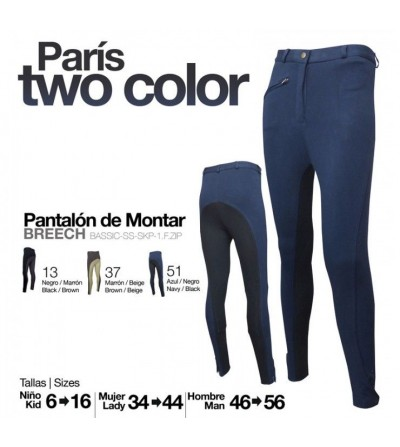 Pantalón Paris Two Color Mujer