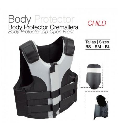 Protector Body-Protector Cremallera Niño