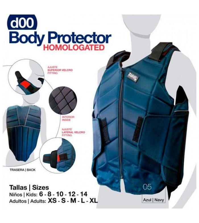Protector Body Homologado D00 Adulto/Niño