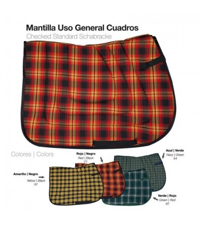 Mantilla Uso General Cuadros 41011