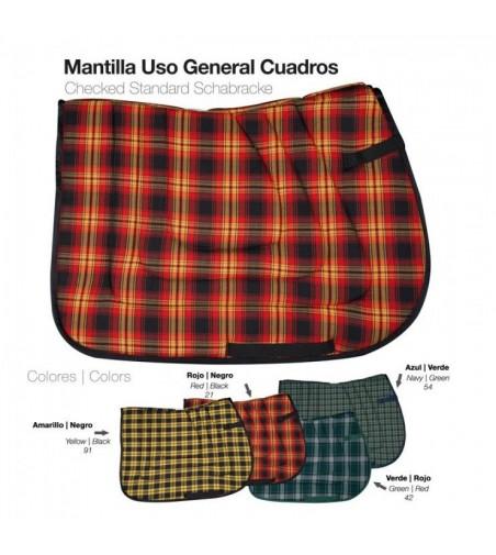 Mantilla Uso General Cuadros 41011