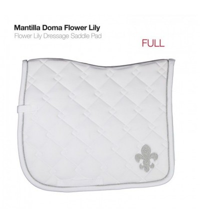 Mantilla Doma Flower Lily Caballo/Pony