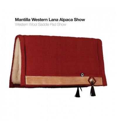 Mantilla Western Lana Alpaca Show Ss00066A