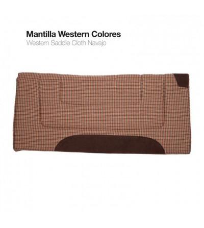 Mantilla Western Colores SS00058