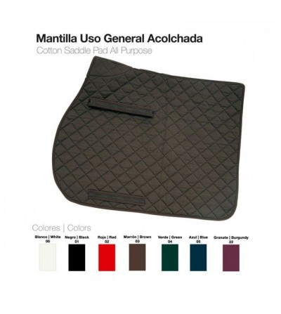 Mantilla Uso General Acolchada 50300