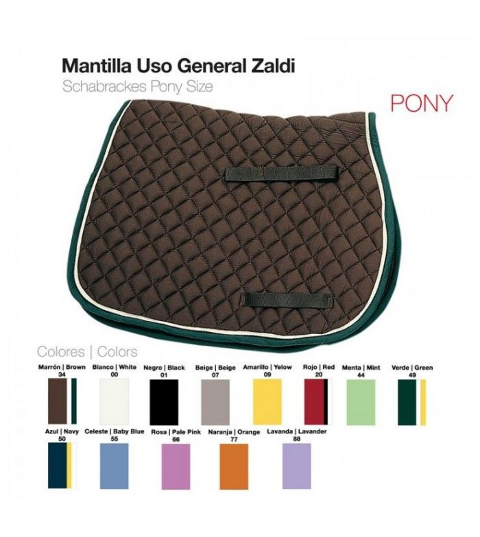 Mantilla Uso General Pony Zaldi