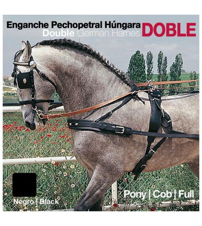 Enganche a la Húngara Doble Pecherín (Tronco)