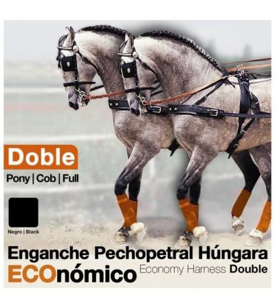Enganche Pechopetral a la Húngara Doble Nylon/Pvc